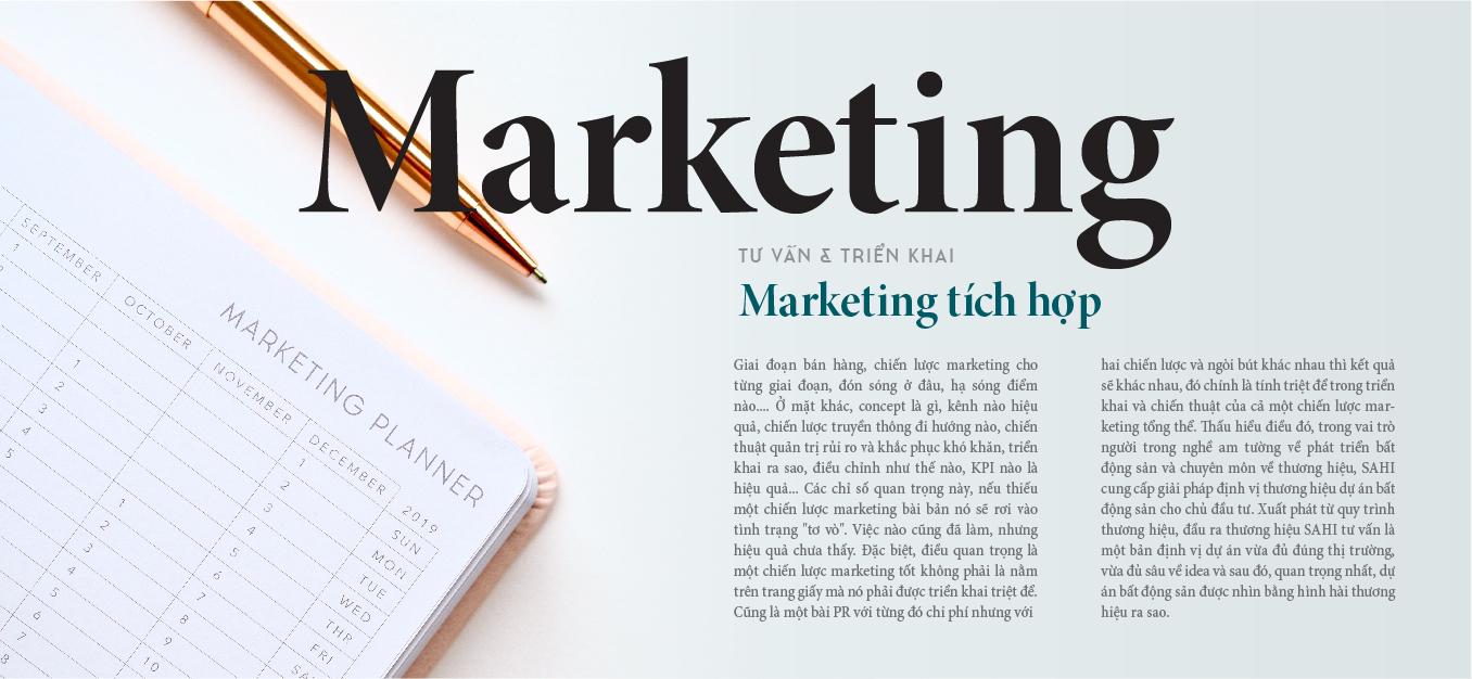 tư vấn & triển khai marketing tích hợp